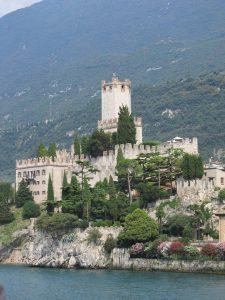 Castle on Garda