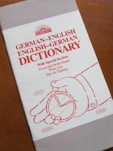German-English Phrasebook