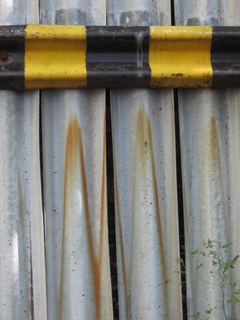 Rusty Barrier