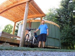 Yurt at Champoeg