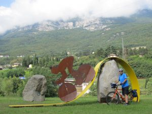 Adige Bike Sculpture