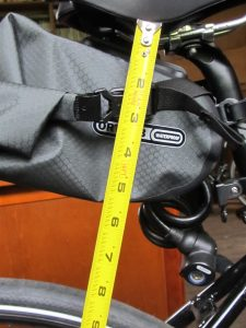 Saddle-Bag Clearance