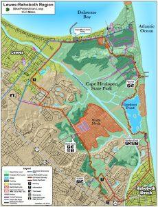 Lewe-Rehoboth Loop Map