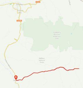 Malheur NF Map