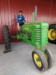 Dave Tractor Ride