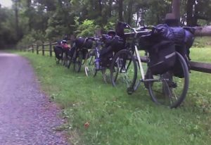 Bike Campers on the Perkiomen