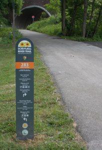 Schuylkill Trail Marker