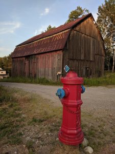 Barn and Hydrant